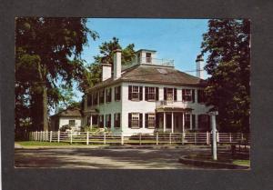 MA Widow's Walk Sea Captain's House Cape Cod Massachusetts Mass Postcard