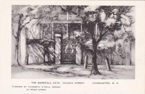 Charleston , South Carolina, 30-40s; Elizabeth O'Neill Verner; Marshall Gate,...