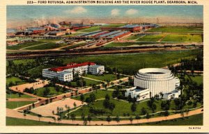Michigan Dearborn Ford Rotunda Administration Building and River Rouge Plant ...