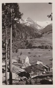 Switzerland Disentis Acletta Medelsergebirge Real Photo sk3694
