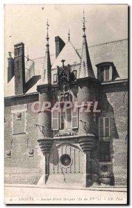 Old Postcard Amiens Old Hotel Morgan