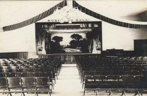 RP: FELCHVILLE , Vermont, 1900-10s ; City Hall , Interior