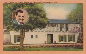 California Brentwood Highlands Home Of Clark Gable