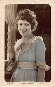 Mary Pickford The World's Sweetheart Film Star Postcard