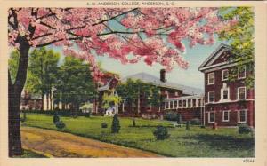 South Carolina Anderson Anderson College