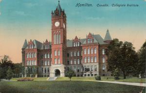 HAMILTON, Ontario , 1914 ; Collegiate Institute