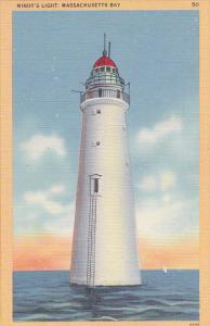 Massachusetts Boston Harbor Minot's Lighthouse