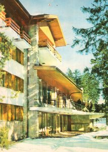 Borovez Hotel Bulgaria 1970s Postcard