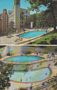The Arlington Hotel and Swimming Pool Hot Springs Arkansas