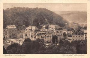 B3741 Czech Republic Teploitz Schonau Kurhotel Steinbad 1928 front/back scan