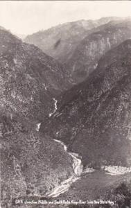 Oregon Junction Middle And South Forks Kings River From New State Highway Rea...