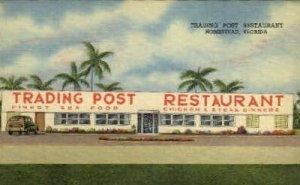 Trading Post, Homestead, Florida, USA Restaurants, Diners Unused