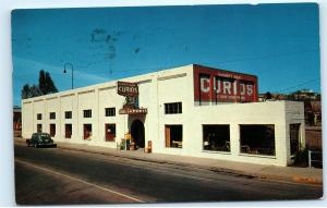 *1960s Garrett Way Curios 492 Grand Ave Nogales Arizona Vintage Postcard C51