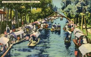 Mexico - Xochimilco, Venice of Mexico