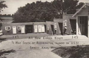 RP: BLOOMINGTON, Illinois, 30-40s ; All New Kabin Kourt