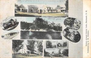 Randolph New Hampshire Onway Lake Buildings and Other Views Postcard JD933726