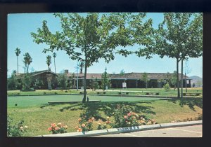 Sun City, California/CA Postcard, Town Hall recreation Building, Bowling Greens