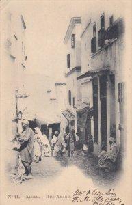 ALGER, 1900-1910's; Rue Arabe