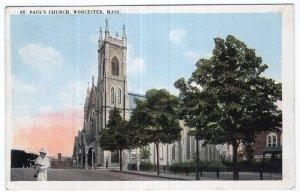 Worcester, Mass, St. Paul's Church