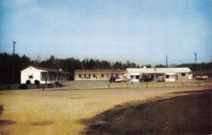 Greensboro North Carolina Wilcox Motel Street View Vintage Postcard K78034