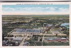 Wisconsin Janesville Aerial View Of Chevrolet Motor Company