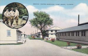 Military Medical Center Barracks Camp Grant Illinois