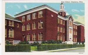 Michigan Ishpeming High School Curteich