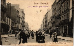 CPA ST-NAZAIRE Rue Amiral-Courbet (864372)
