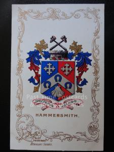 c1906 - HASTINGS - Heraldic Coat of Arms