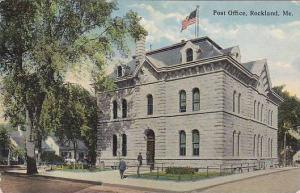 Post Office, Rockland, Maine, 1900-1910s