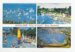 Multiview Sailboats in Auckland,New Zealand 1960-70s