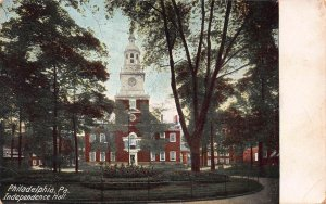 Independence Hall, Philadelphia, PA, Early Postcard, Used in 1908