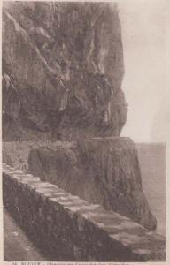 Chemin En Corniche Des Aiguades Mediterranean Algeria Bougie Algeria Postcard