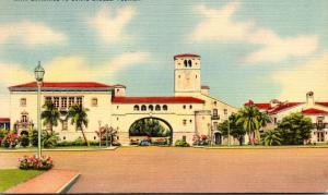 Florida Miami Coral Gables Main Entrance 1944