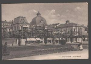 090852 SWITZERLAND Geneve Le Kursaal Vintage PC