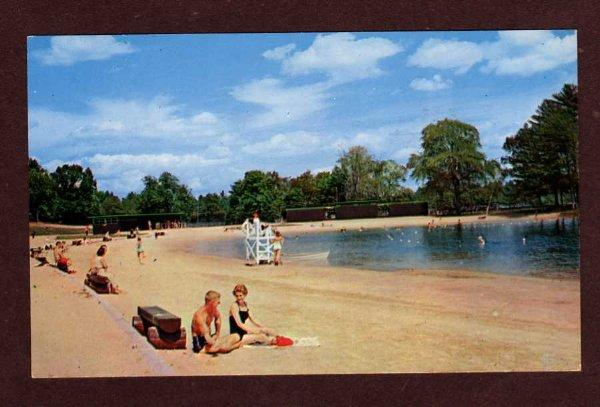 Nh Silver Lake State Park Hollis New Hampshire Postcard