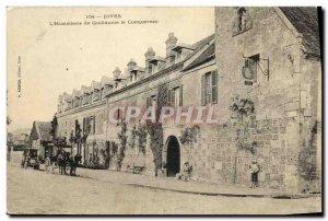 Old Postcard Dives sur Mer Hostellerie William the Conqueror Caleche Automotive