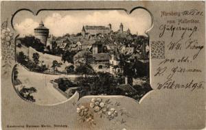 CPA AK Nürnberg vom Hallerthor GERMANY (644705)