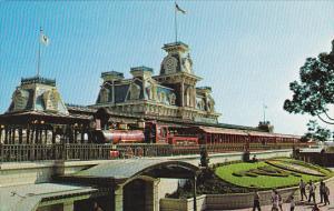 Steam Railroad Walt Disney World Orlando Florida