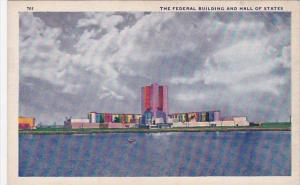 The Federal Building And Hall Of Staes Chicago World's Fair 1933-34