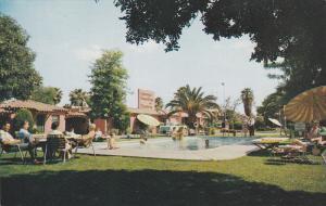 Swimming Pool, Greenway Motor Hotel & Restaurant, Phoeniz, Arizona, 40-60´s