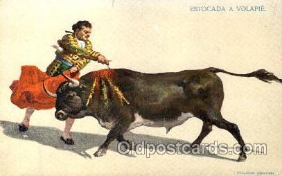 Bullfighting Postcard Postcards