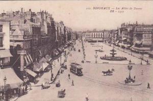 France Bordeuax Les Allees de Tourny