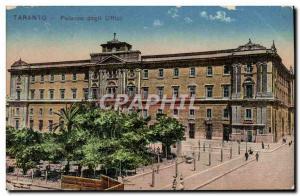 Postcard Old Taranto Faiazzo degll Ulffici