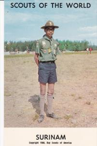 Boy Scouts of the World, SURINAM, 1960´s