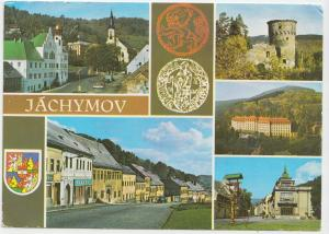JACHYMOV, Czech Republic , used Postcard