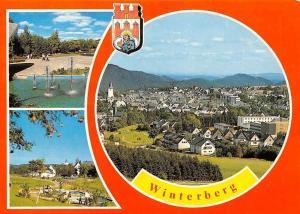Winterberg Brunnen, Fountain Park Promenade Panoramic view