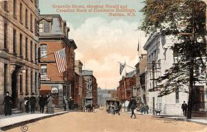 Canada N.S. Halifax, Granville Street, Herald, Canadian Bank of Commerce 1912