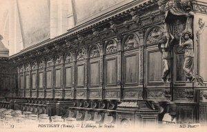 L'Abbaye,les Stalles,Pontigny,France BIN