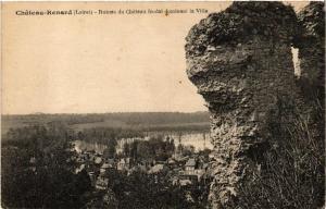 CPA CHATEAU-RENARD Ruines du Chateau féodal (608161)